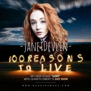 Janet Devlin Featured on New Gareth Emery Album, 100 Reasons to Live
