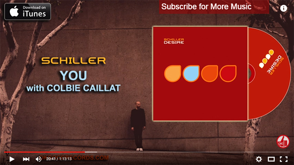 Schiller's 'Desire' Now Streaming on YouTube