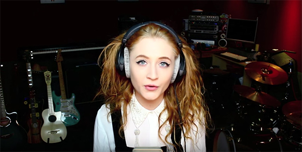 "Janet Devlin covers Red Hot Chili Peppers ""Californication"""