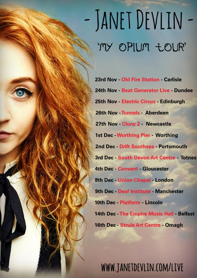 Janet Devlin Announces 'My Opium' Tour Dates
