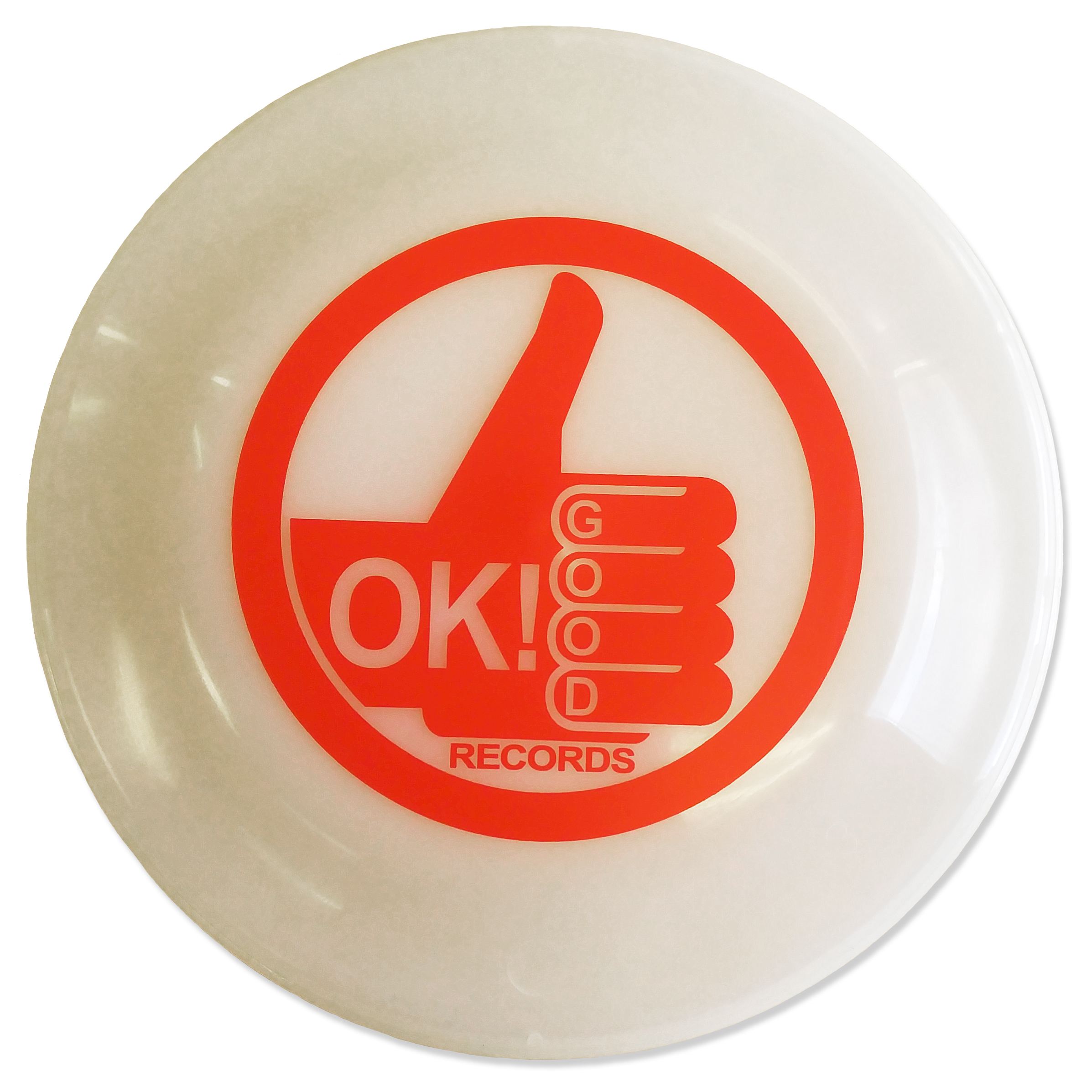 OK!Good Records Glow in the Dark Frisbee