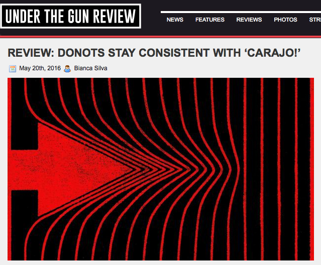 'Under The Gun Review' Rates DONOTS '¡CARAJO!' 8 Out of 10