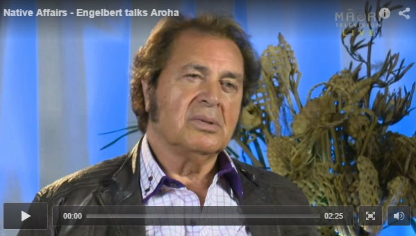 Engelbert Humperdinck - native affairs tv