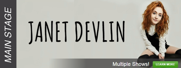 Get Your Tickets Now For Janet Devlin's Upcoming Stageit Performances