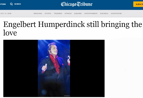 chicago-tribune - engelbert humperdinck
