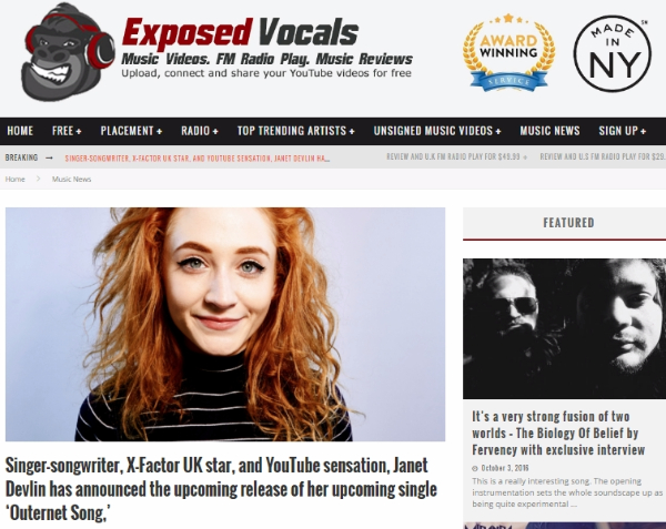 Exposed Vocals Features Janet Devlin's