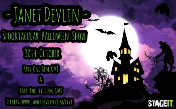Don't Miss Janet Devlin's Spooktacular Halloween Stageit Performances