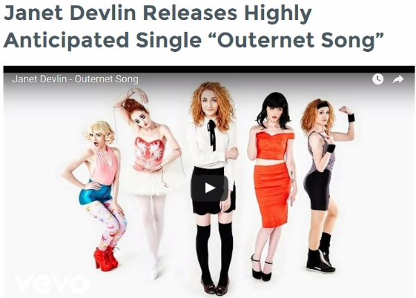 The LP Collective Features Janet Devlin's New Single 'Outernet Song'