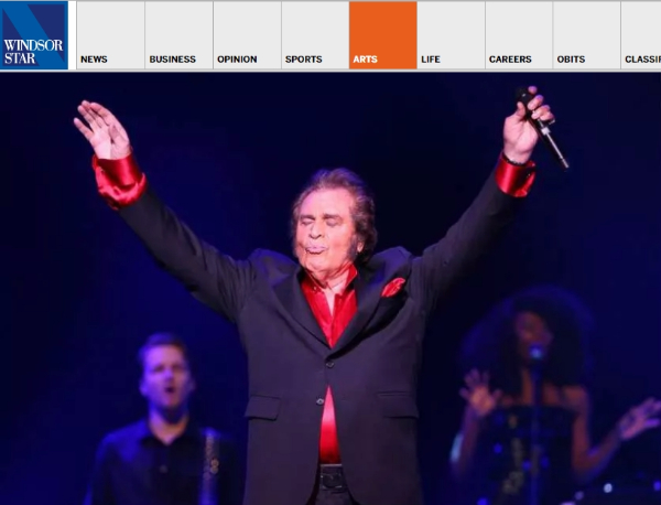 Engelbert Humperdinck Serenades Caesars Windsor Crowd