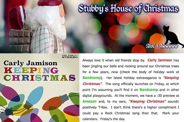 carly jamison - stubbys house