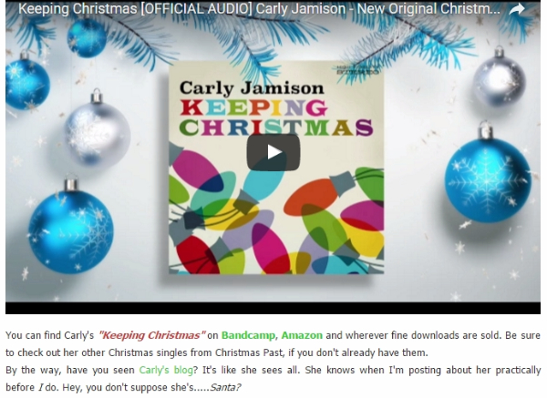 """Keeping Christmas"" Featured on Stubby's House of Christmas"