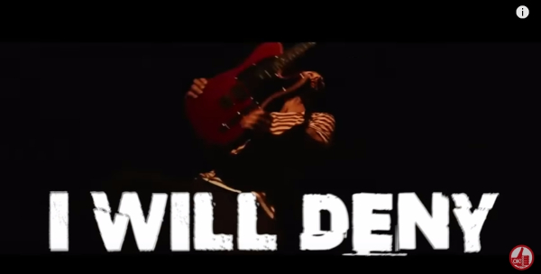 i will deny lyrics video - donots