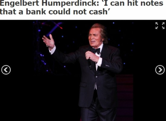 Engelbert Humperdinck Las Vegas Review