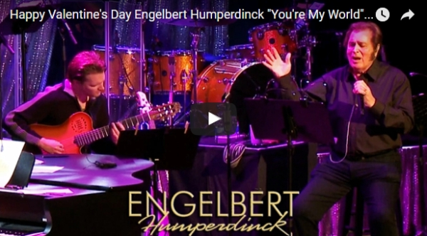 Engelbert Humperdinck's Special Valentine's Day Acoustic Performance