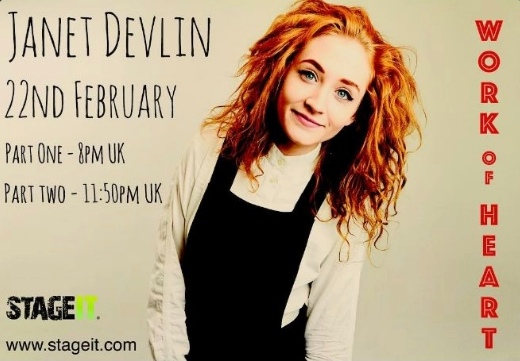 Don't Miss Janet Devlin's Upcoming Stageit Performances