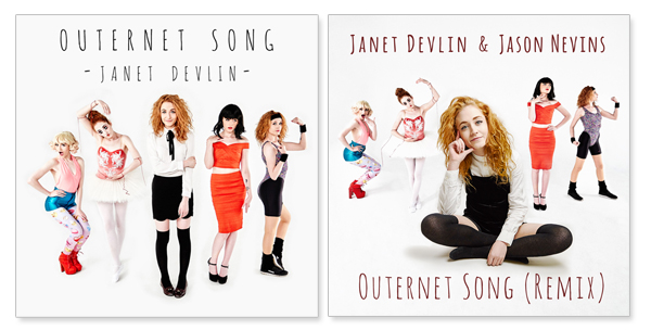 JANET DEVLIN - Outernet Song & Remix CD-Single Combo Pack