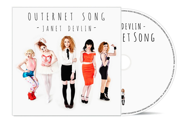 Janet Devlin - Outernet Song CD