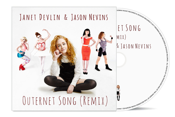 JANET DEVLIN & JASON NEVINS – Outernet Song (Remix) CD Single