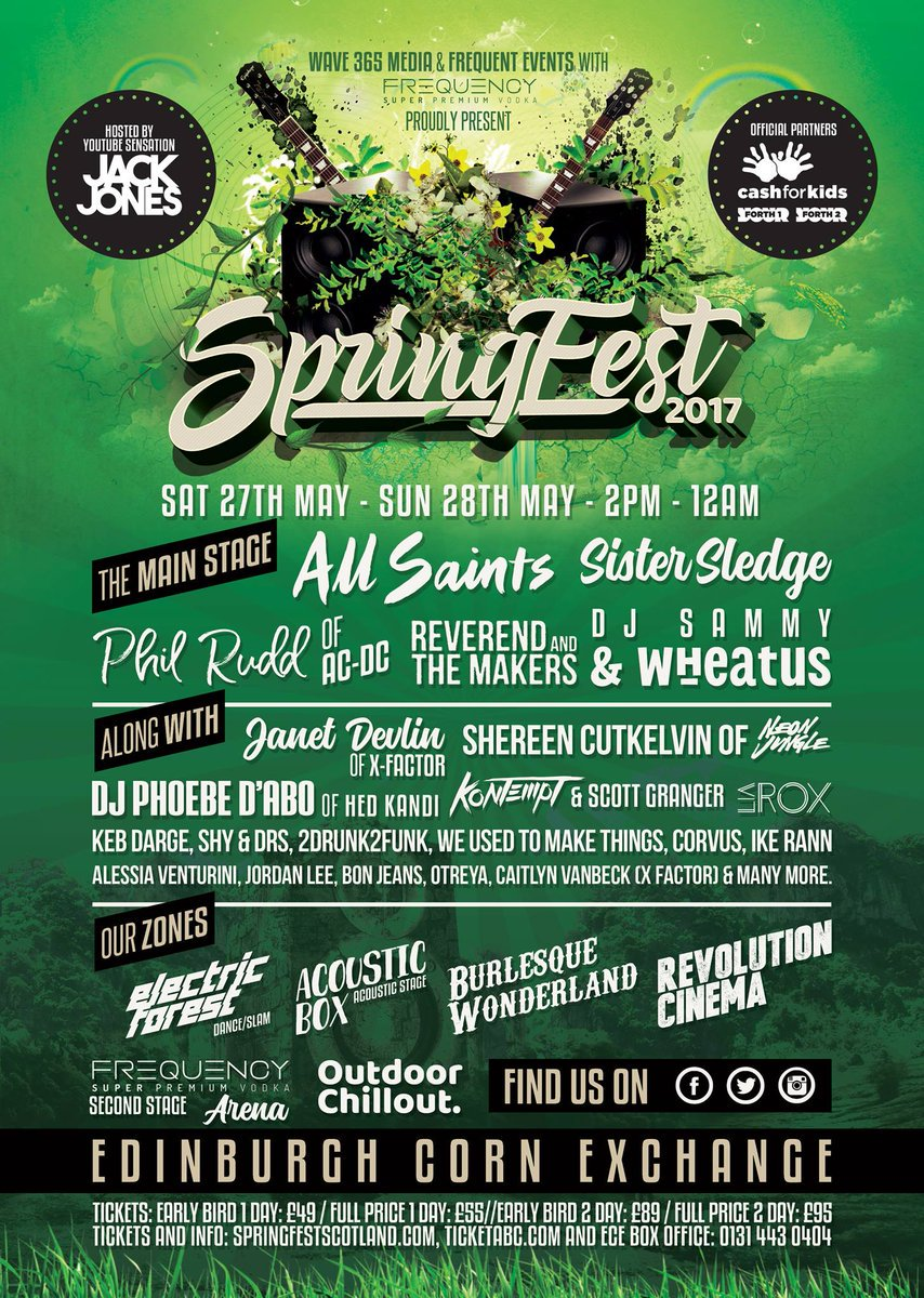 spring music festival janet devlin spring fest UK scotland independent music record label singer songwriter okgood records ok!good records ok good running with scissors little lights