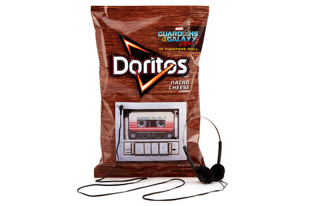 New Doritos Bags Play 'Guardians of the Galaxy Vol. 2' on Built In Cassette Deck