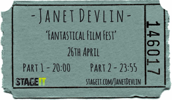 Don't Miss Janet Devlin's Stageit Performances Taking Place Today