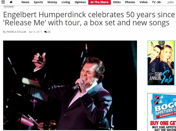 Watch Engelbert Humperdinck On Larry King Now Ok Good