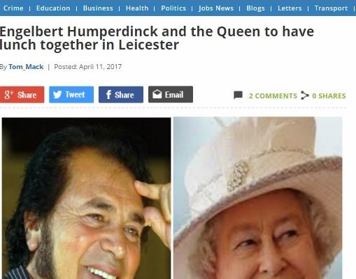 engelbert humperdinck - meet the queen