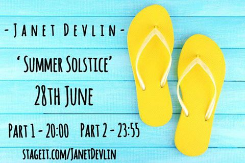 Don't Miss Janet Devlin's Two Stageit Performances Taking Place Tomorrow Wednesday, June 28th