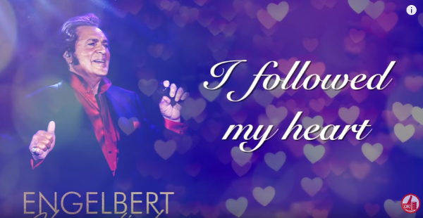 "Watch Engelbert Humperdinck's ""I Followed My Heart"" Lyric Video"