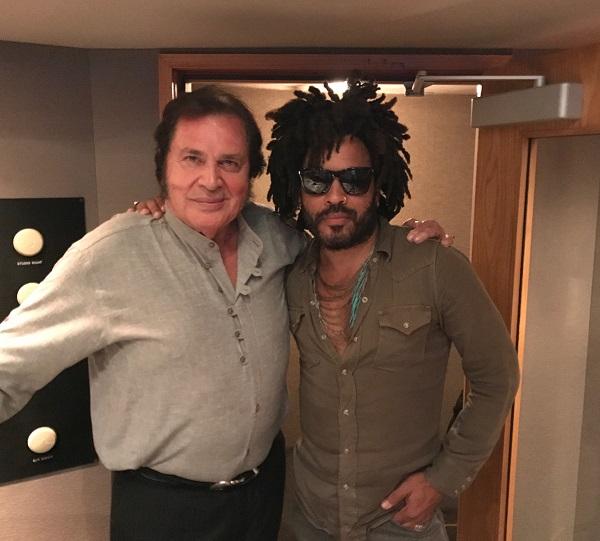 Guess Who Surprised Engelbert Humperdinck at Capitol Studios in Hollywood, CA?