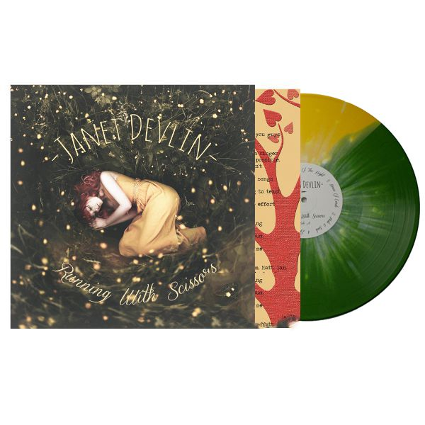 Pre-order Janet Devlin's Debut Album 'Running With Scissors' on 12″ Vinyl