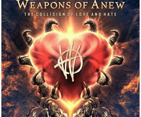 "Weapons of Anew to Release ""The Collision of Love and Hate"" and Tour North America With Tesla"