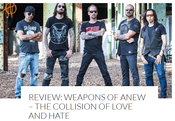 All That Shreds Reviews Weapons of Anew's 'The Collision of Love and Hate'