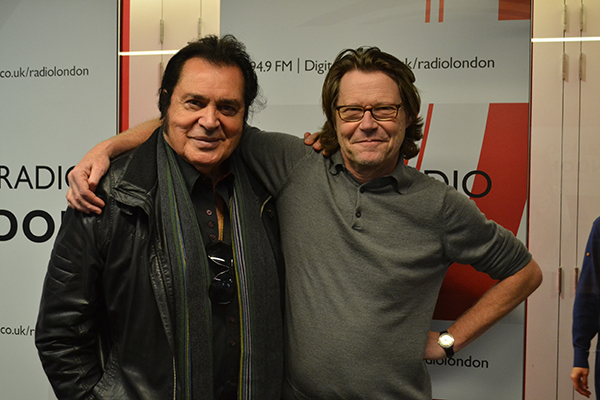 Engelbert Humperdinck & Robert Elms on BBC Radio