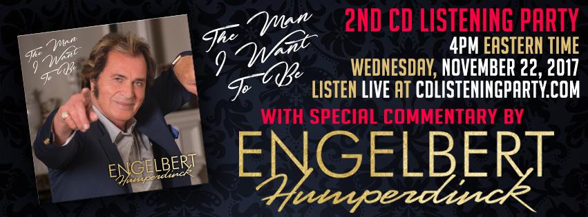 Engelbert Humperdinck CD Listening Party