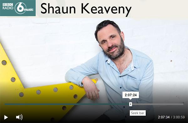 Engelbert on BBC Radio 6 with Shaun Keaveny 2