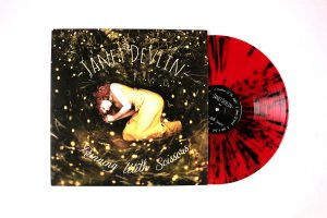 janet devlin running with scissors vinyl ok good records red and black splatter