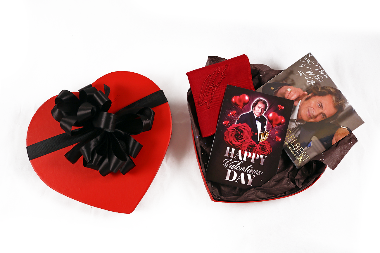 New Engelbert Humperdinck Deluxe Valentine's Day Gift Set!