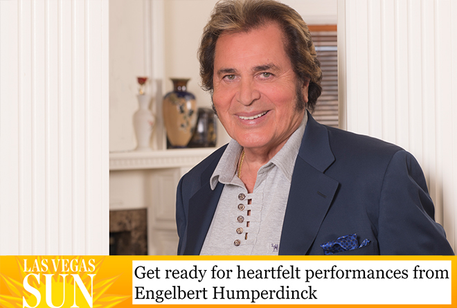 Engelbert Humperdinck in the Las Vegas Sun