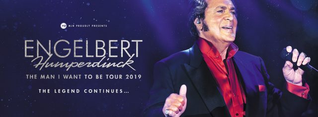 Engelbert Humperdinck announces new tour down under