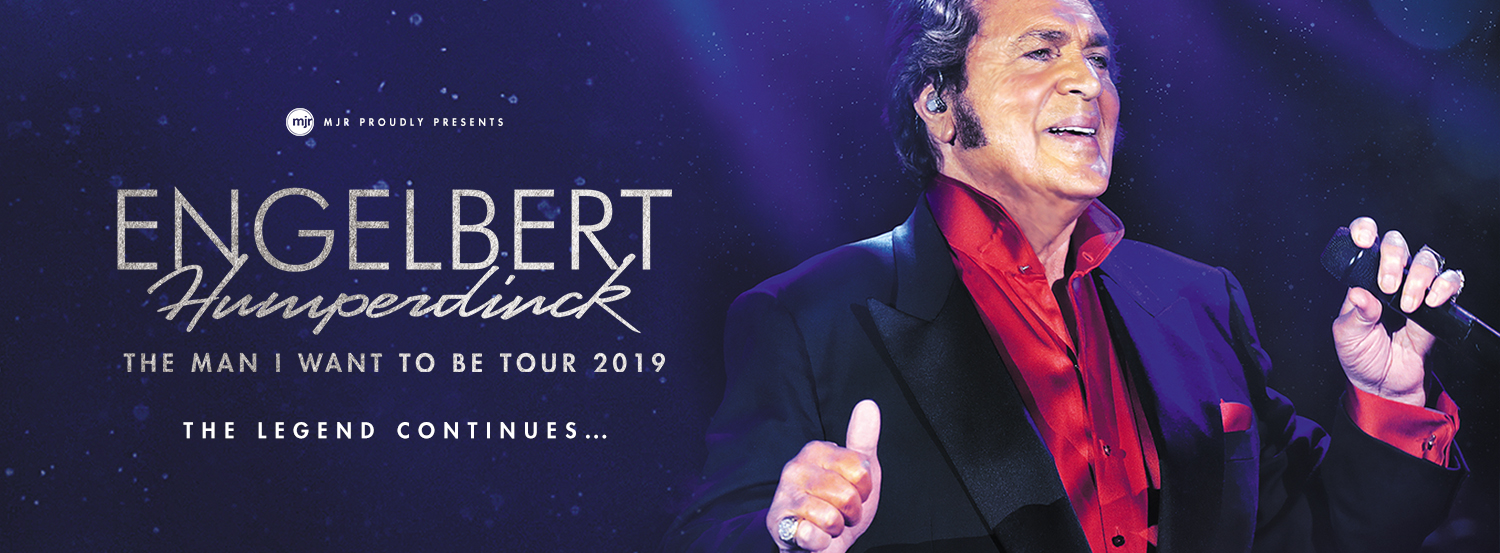 Engelbert Humperdinck announces Australian and New Zealand Tour
