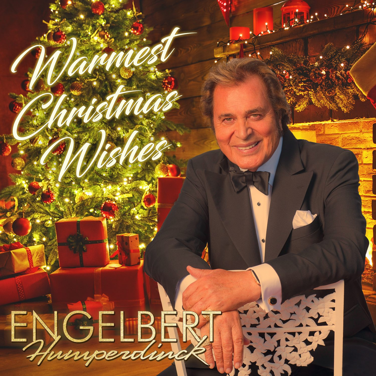 Christmas Album Cover Art.Engelbert Humperdinck To Release Warmest Christmas Wishes