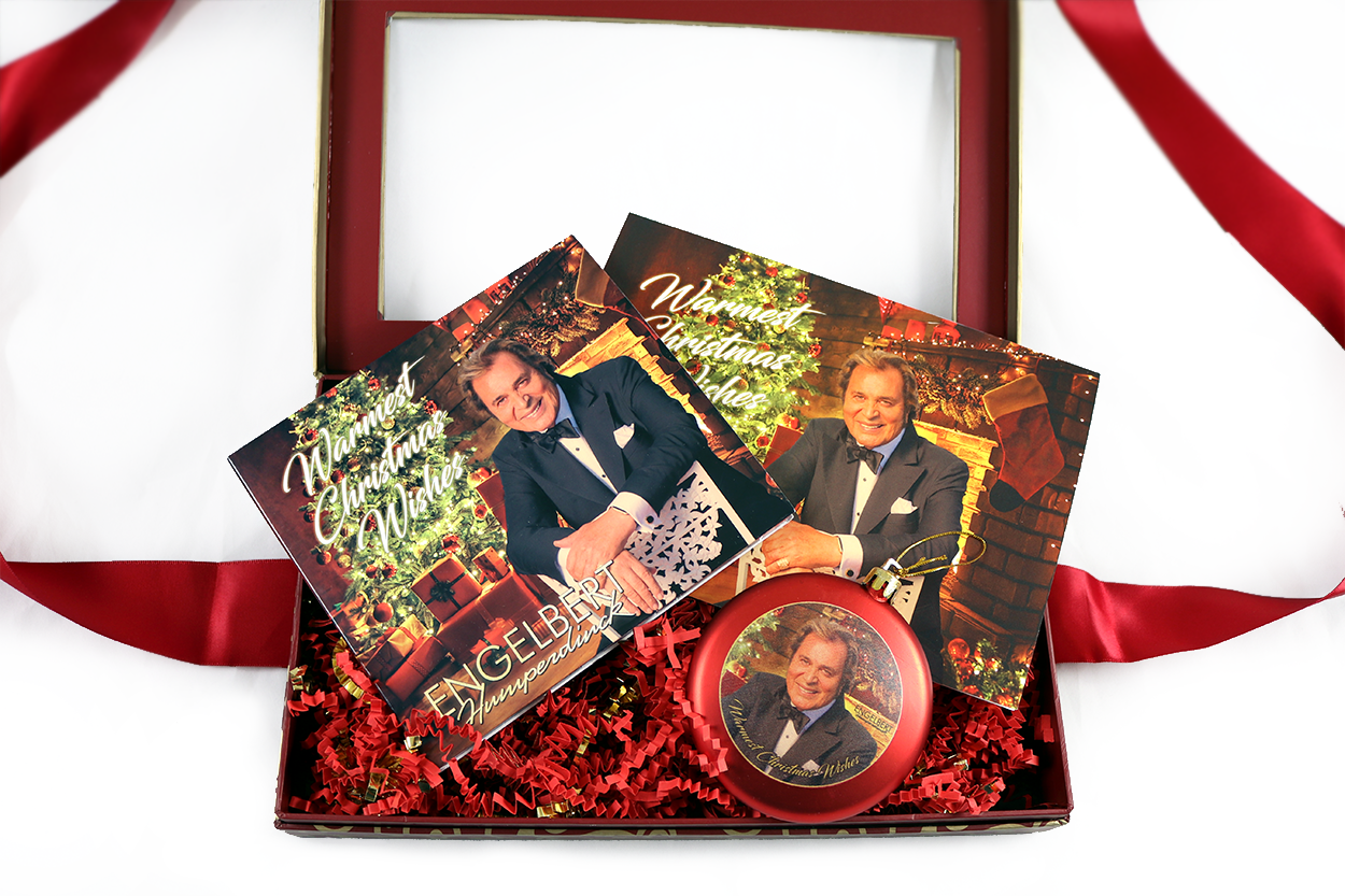 warmest christmas wishes gift set engelbert humperdinck ok good records album pre orders christmas music the man i want to be ok good records