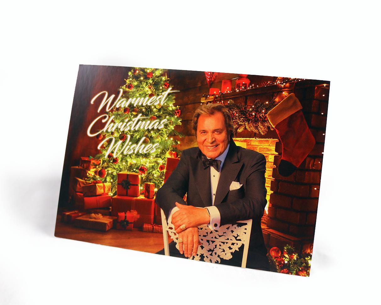 ENGELBERT HUMPERDINCK - Warmest Christmas Wishes Greeting Cards