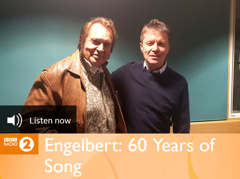 Listen to BBC Radio 2's Special 'Engelbert: 60 Years of Song' Interview with Nicky Campbell