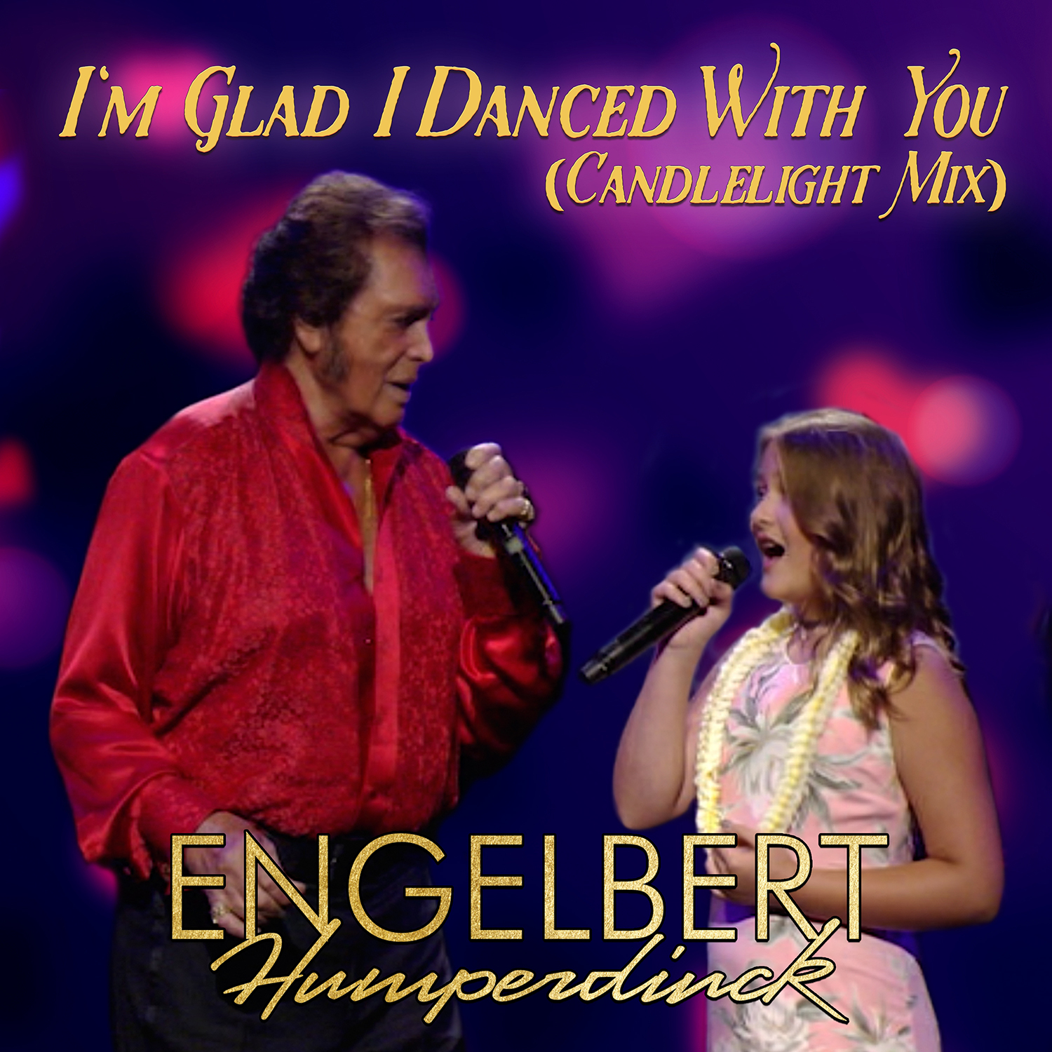 "Engebert Humperdinck Releases Special New Mix of ""I'm Glad I Danced With You"" Duet with His Granddaughter Olivia"