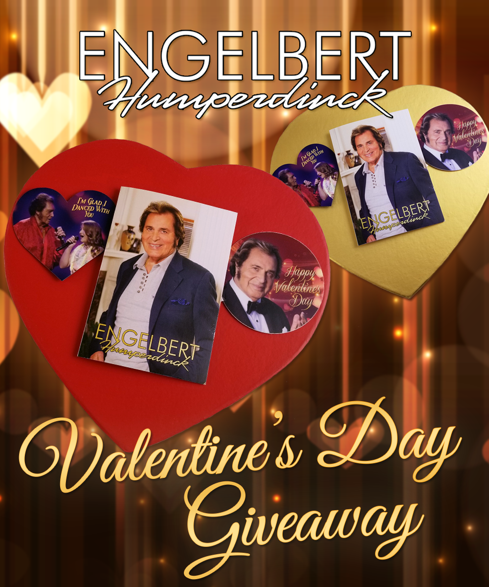 Enter to Win the Engelbert Humperdinck ♥ Valentine's Day ♥ Giveaway!