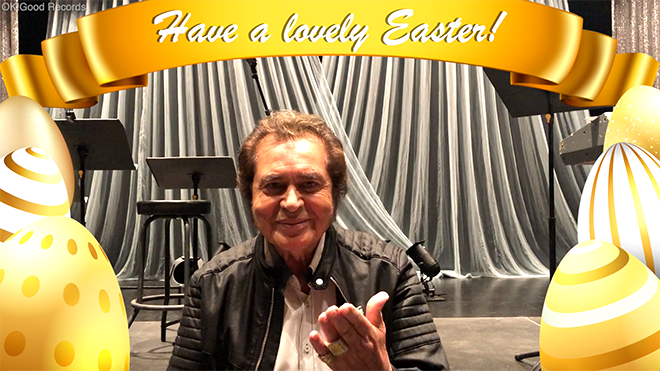 Easter Greetings from Engelbert Humperdinck