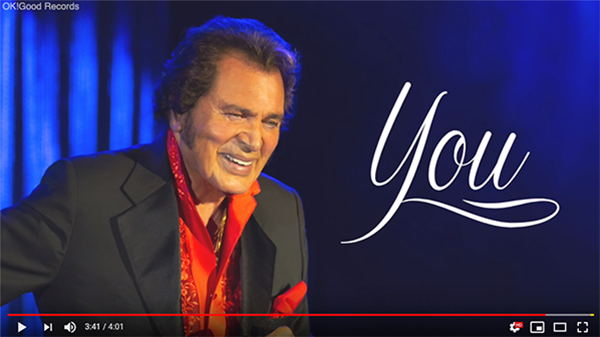 "Watch the Lyric Video for Engelbert Humperdinck's New Single ""You"""