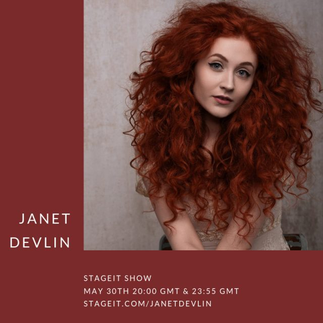 Janet Devlin - StageIt - May Shows